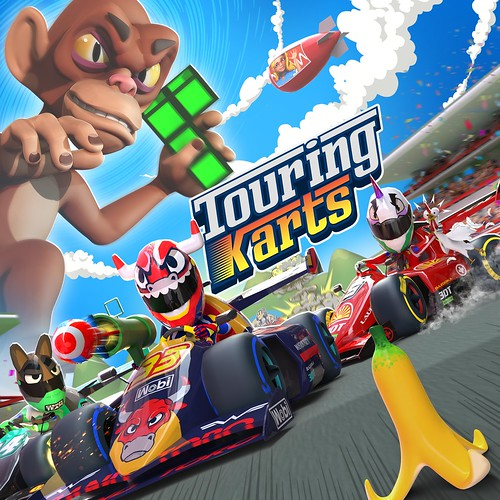 Thumbnail of Touring Karts on PS4