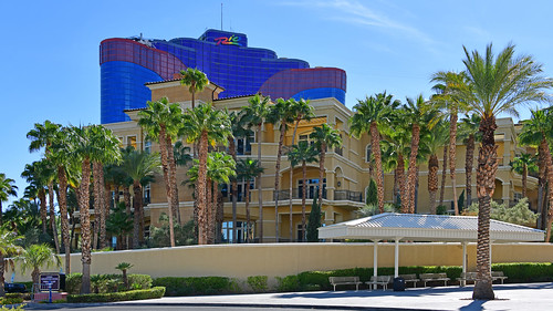 Rio Las Vegas. NV, USA. 09-27-18 Home of the World Series of Poker tournament, this vibrant casino resort is a mile from The Strip