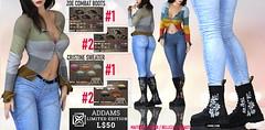 Addams Super LE L$50 Deal⚡️ - Zoe Boots + Cristine Sweater + Flash Giveaway!! 🏃♀️🏃♀️