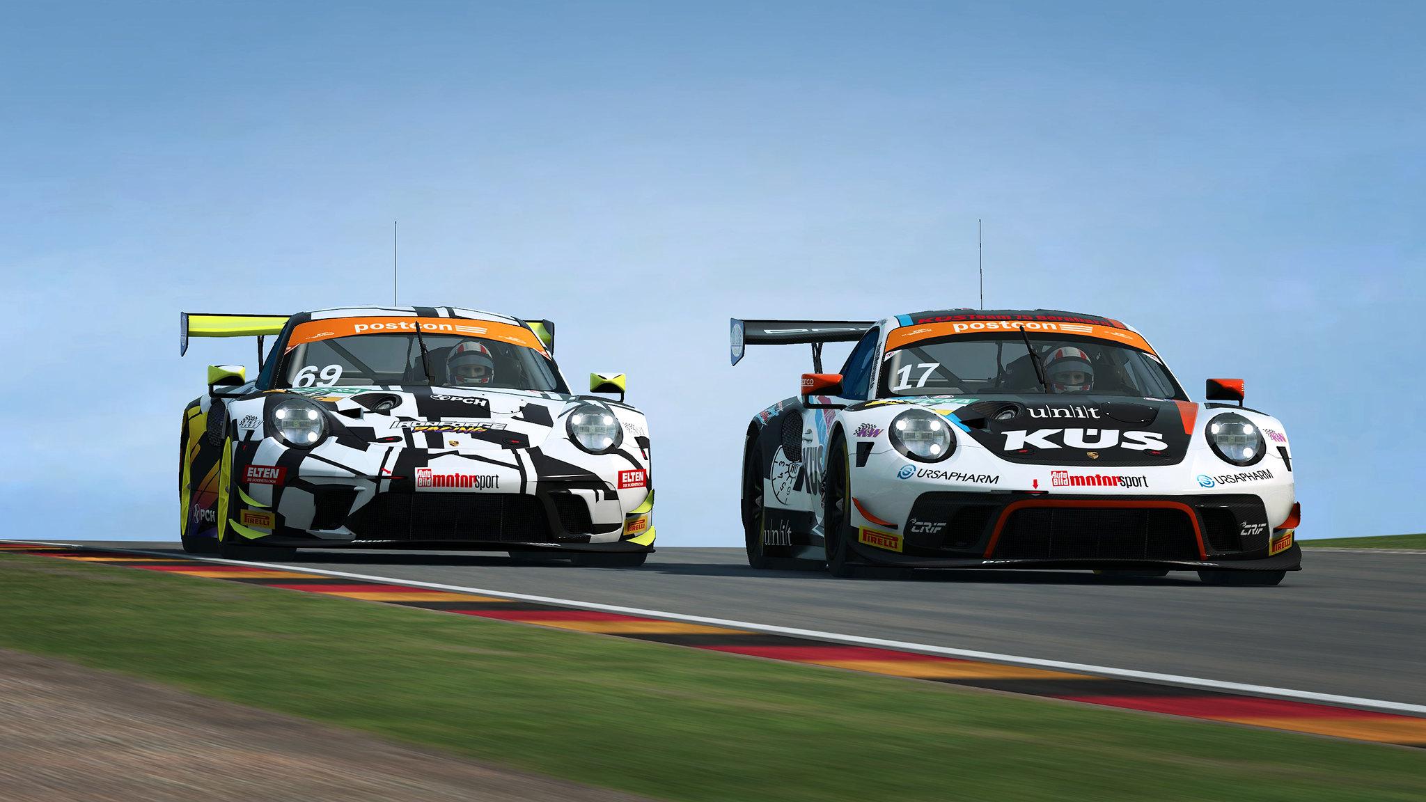 R3E Porsche 911 GT3 R 5