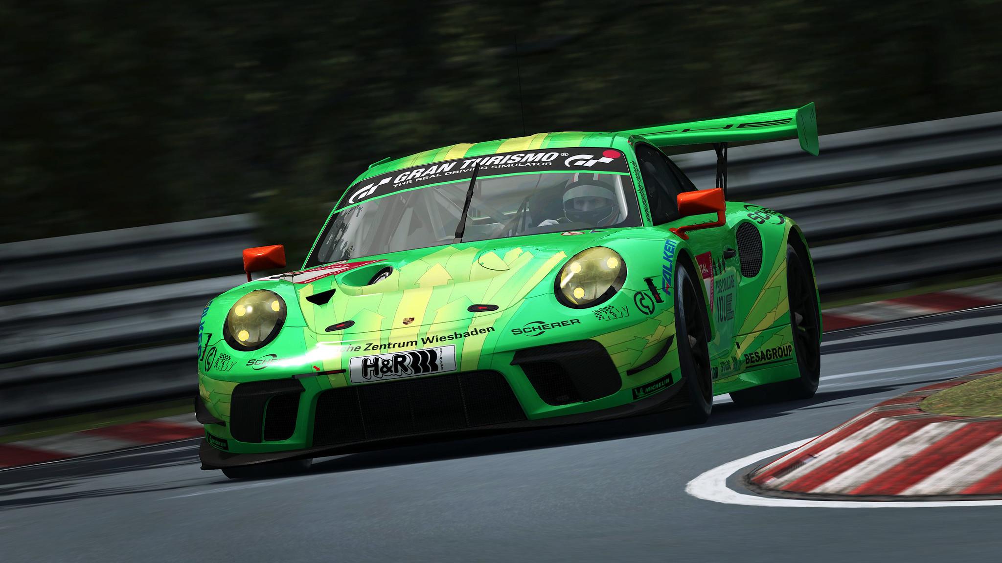 R3E Porsche 911 GT3 R 4
