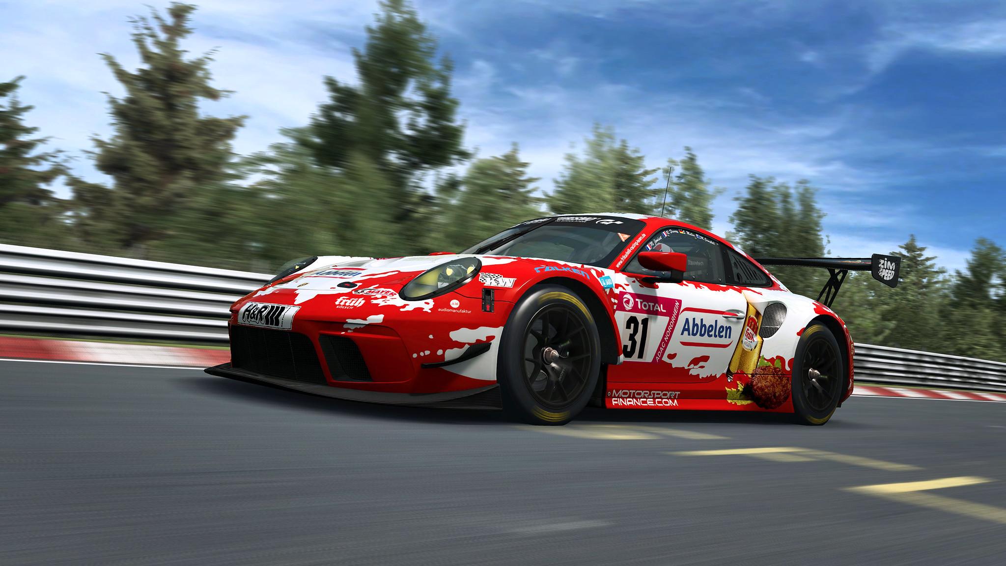 R3E Porsche 911 GT3 R 7