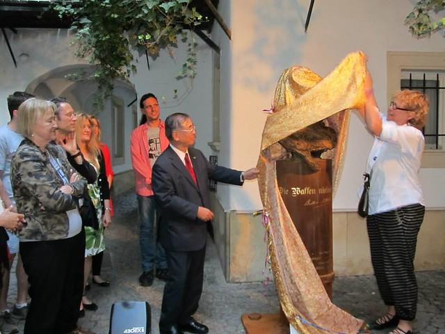 Austria-2014-June-Peace Museum Grand Opening in Vienna