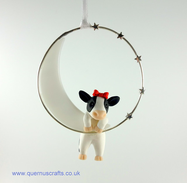 Little Cow on Glass Moon