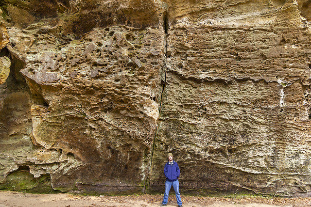 Chuck Sutherland, Fentress Formation, Big South Fork NRRA, Scott County, Tennessee 1