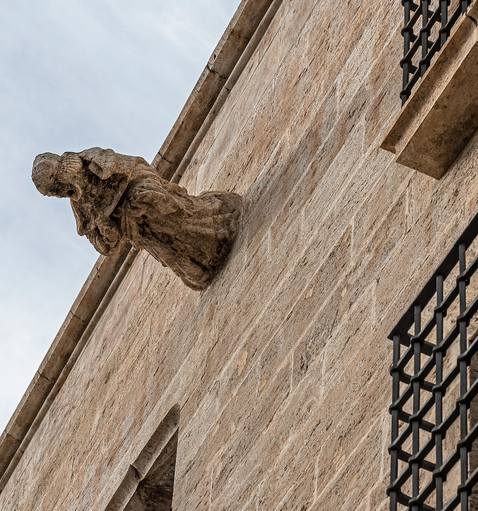 Carved Figiure - Rear of Valencia Cathedral (Panasonic S1 & Lumix S 24-105mm f4 Zoom) (1 of 1)