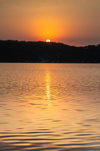 Sun Rising Waterscape