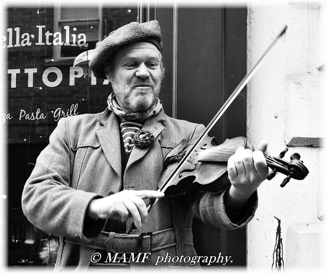 On the fiddle in York.