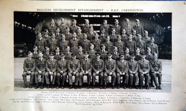 BDE Establishment RAF Cardington.