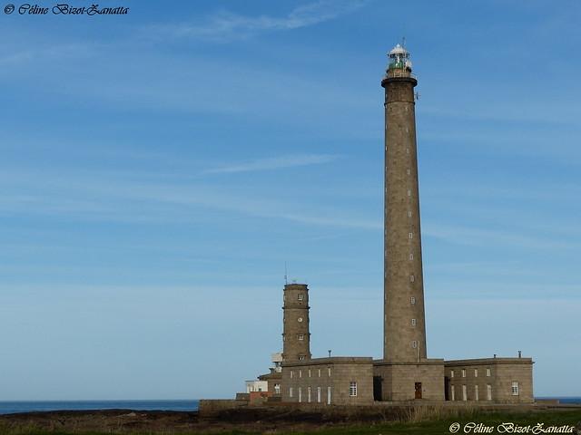 Le majestueux phare de Gatteville  - Cotentin - Manche - Normandie - France  - Europe