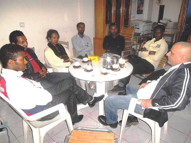 Ethiopia-2014-06-11~13-Visit by Scottish Ambassador for Peace