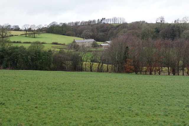 Farm above Holymoorside