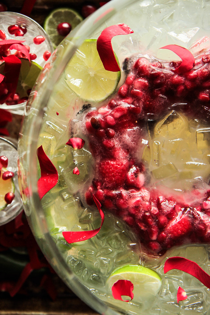 Christmas Margarita Punch from HeatherChristo.com