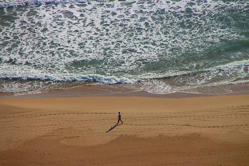 Perspectiva lejana. Benidorm visto desde la azotea del Gran Hotel Balí