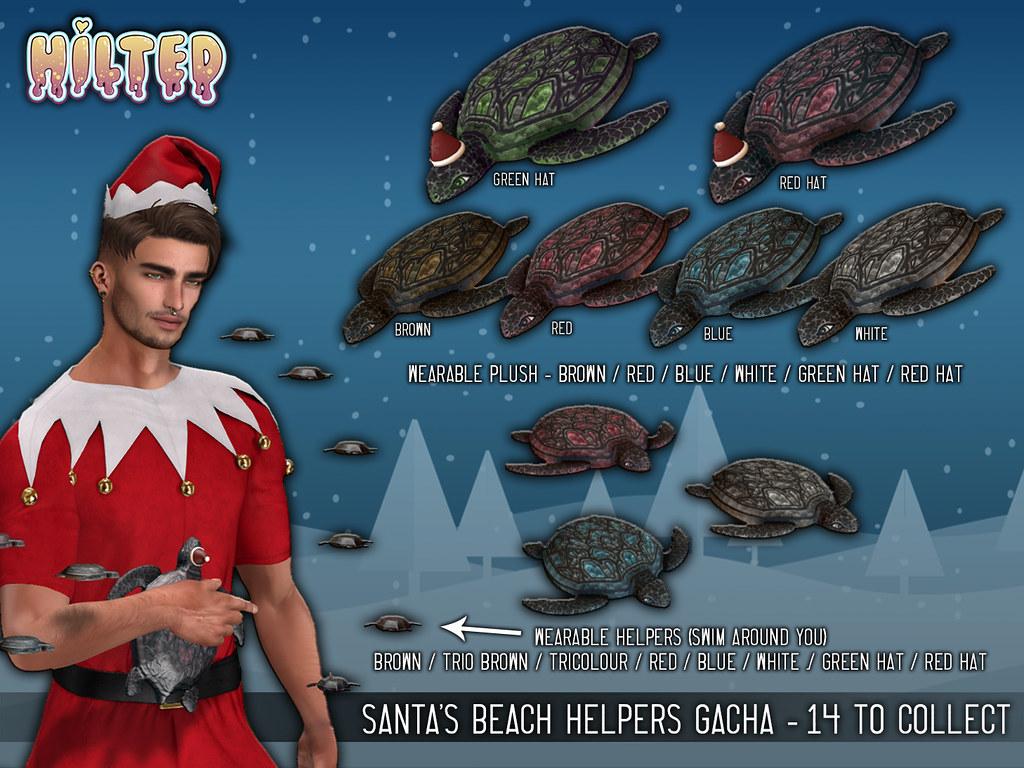 HILTED – Santas Beach Helpers