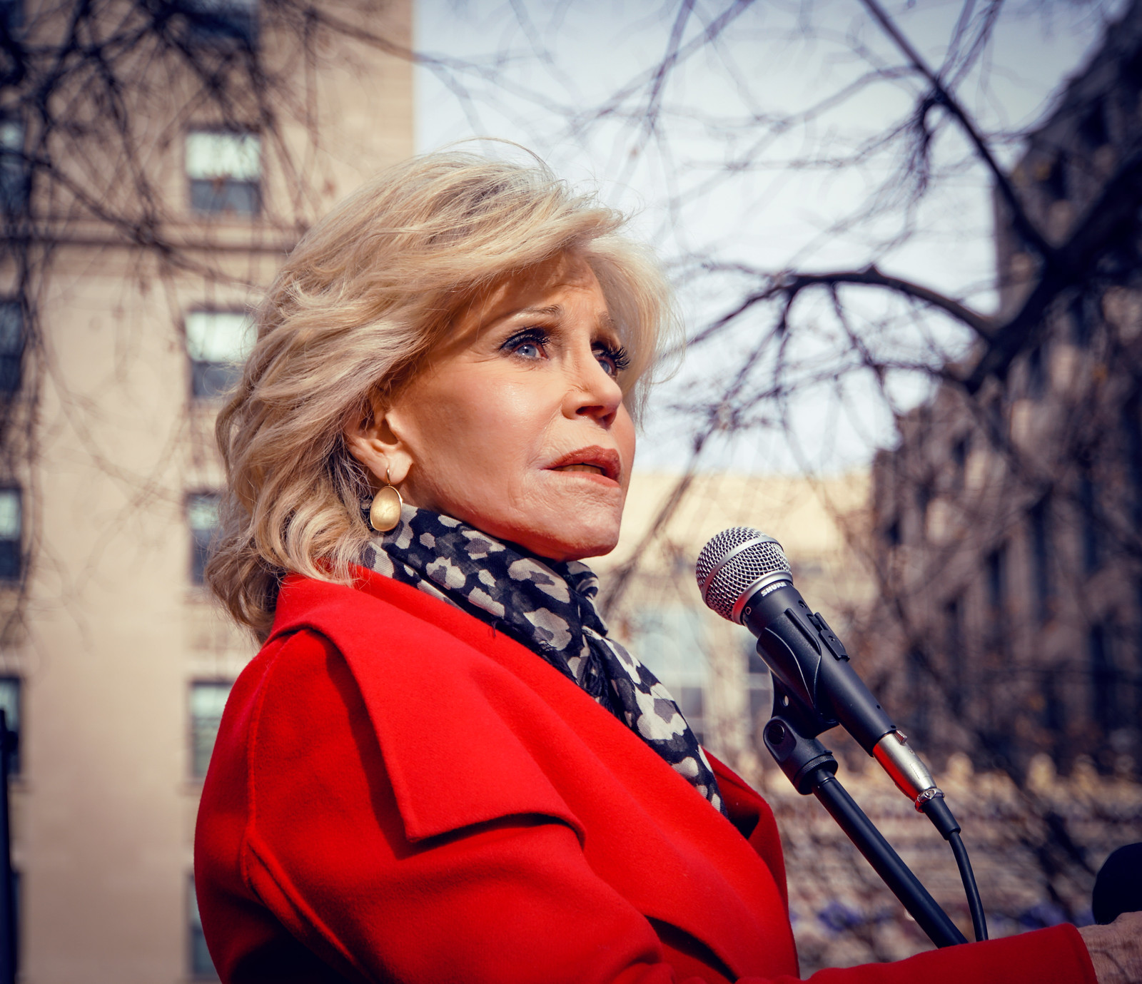 Photos: Fire Drill Fridays with Jane Fonda, Washington, DC USA - yes, it is a climate emergency