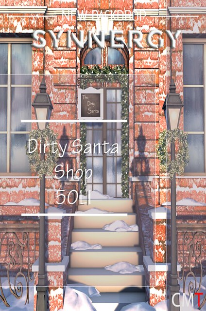 Synnergy Dirty Santa Shop Backdrop