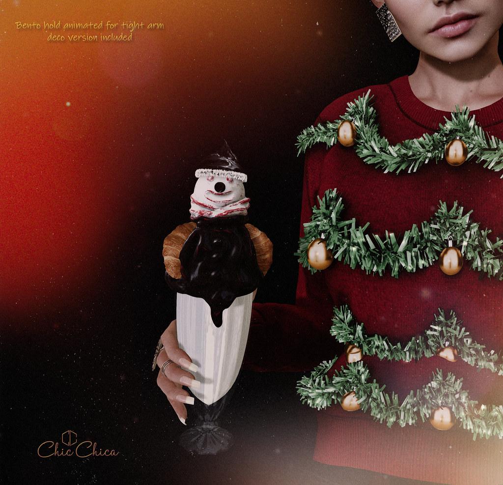Snowman Milkshake by ChicChica @ Santa Inc