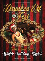 Drunken Elf Fest Poster