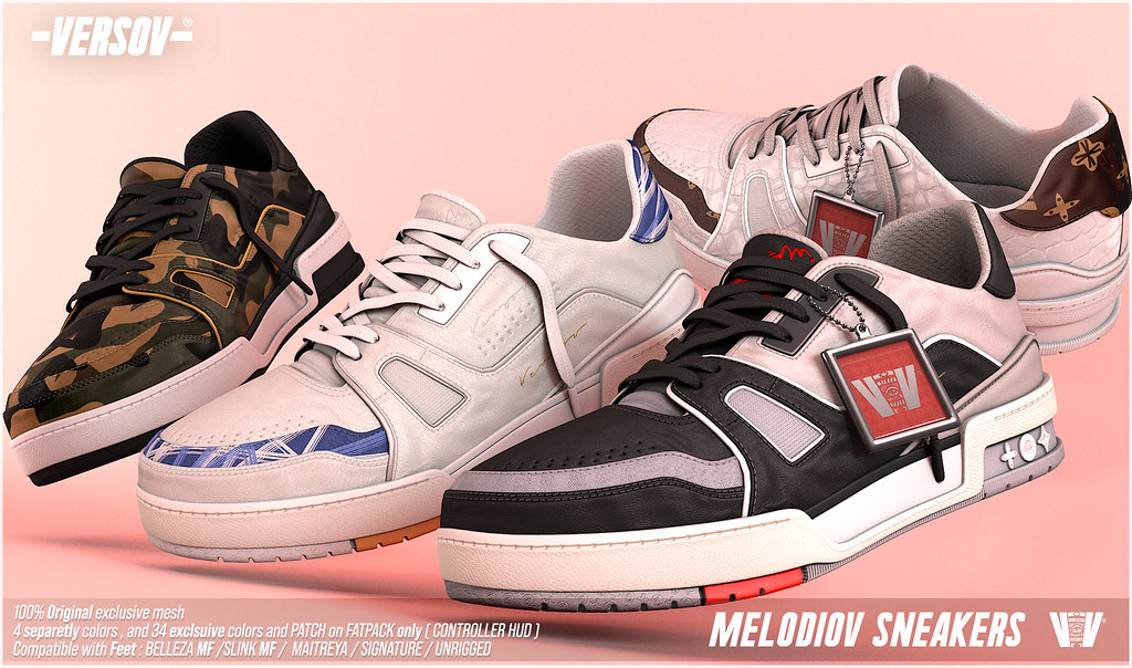 [ Versov // ] MELODIOV sneakers available at TMD