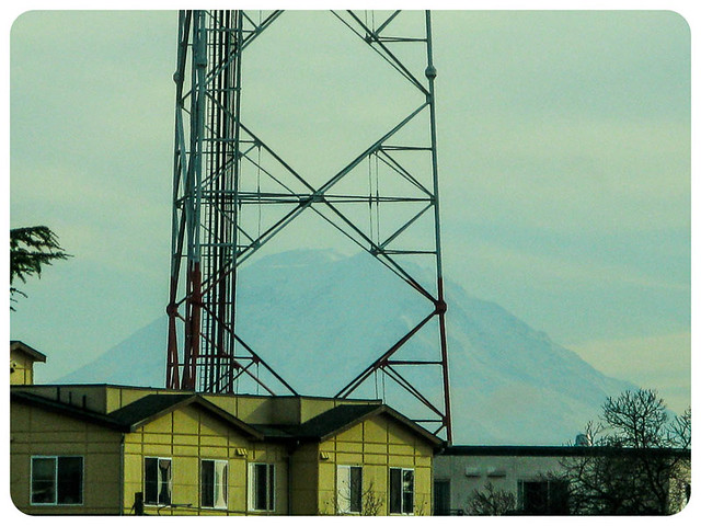 Mt. Rainier and Tower