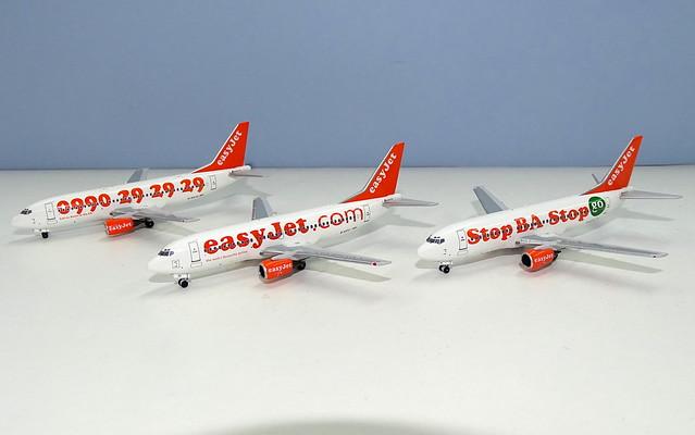 easyJet 737-300s