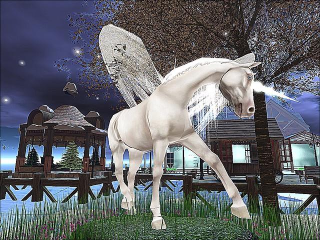 Solar Moons - Pegasus Prances With Christmas Magic