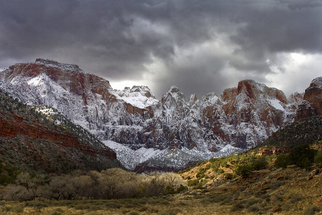Towers of the Virgin, Zion National Park, Utah