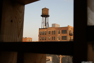 Chicago Fulton Market Watertower