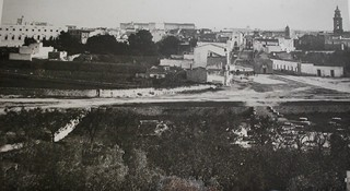 Foto storica della Grave di Largo Pozzi