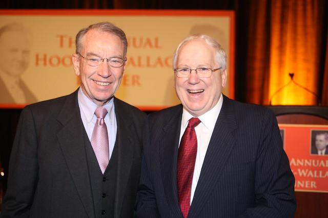 2009 Hoover-Wallace Dinner Honoring Senators Grassley and Harkin