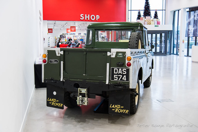 Land-Rover 109 Pick-up Series II - 1958