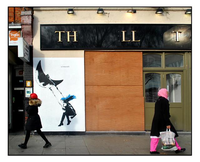 LONDON STREET ART by LORETTO