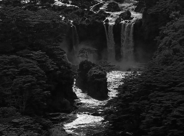 HAWAI et ses chutes d'eau
