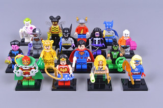 Review: 71026 DC Super Heroes Collectable Minifigures (Part 1)