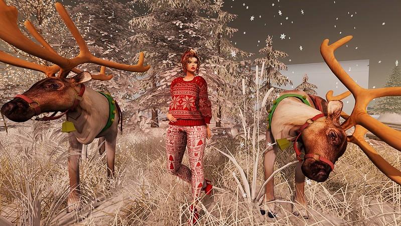 2019 SL Christmas Expo Exclusive Items - HEC Pepper Christmas Leggings