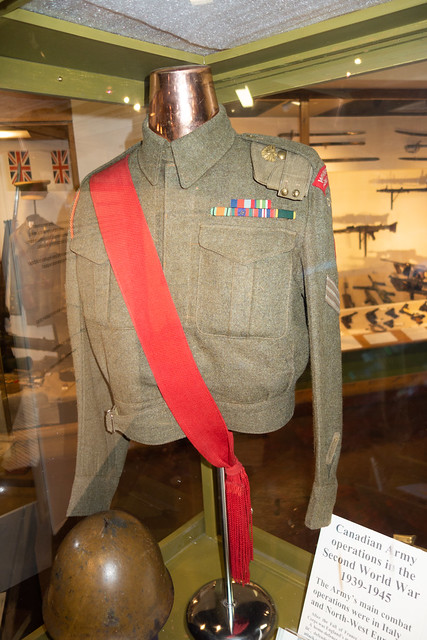 WWII Canadian army jacket