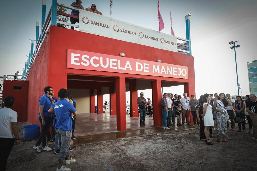 2019-12-06 PRENSA: Inauguración del Complejo de Velocidad Albardón