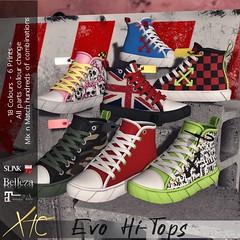 .Evo Hi-Tops. Multi options!