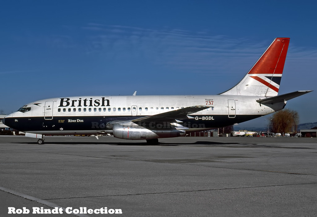 British Airways B737-236/Advanced G-BGDL