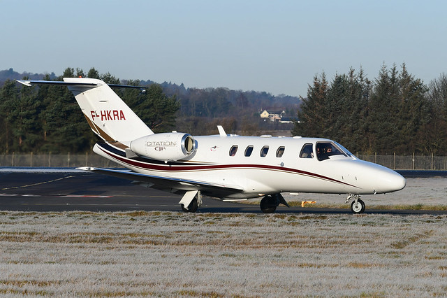 F-HKRA Cessna 525 CitationJet CJ1+ EGPH 01-12-19