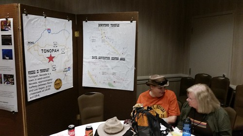 Tonopah Poster Session at SMOFCon