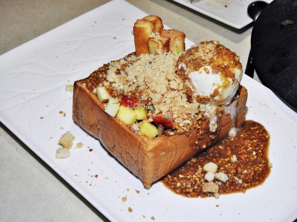 Rojak Ice Cream Toast