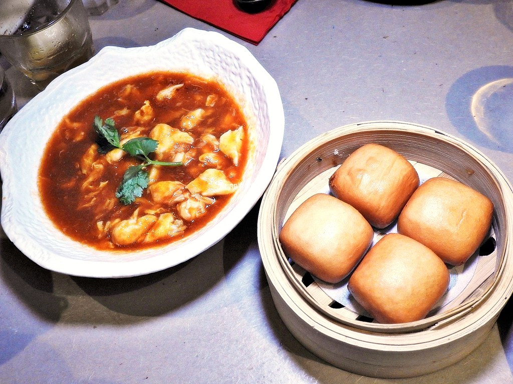 Chilli Crab With Fried Mantou
