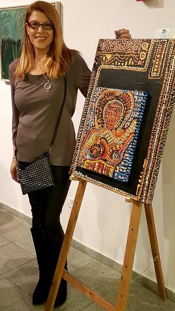 ציירת ישראלית מירית בן נון אמנית מודרנית עכשווית