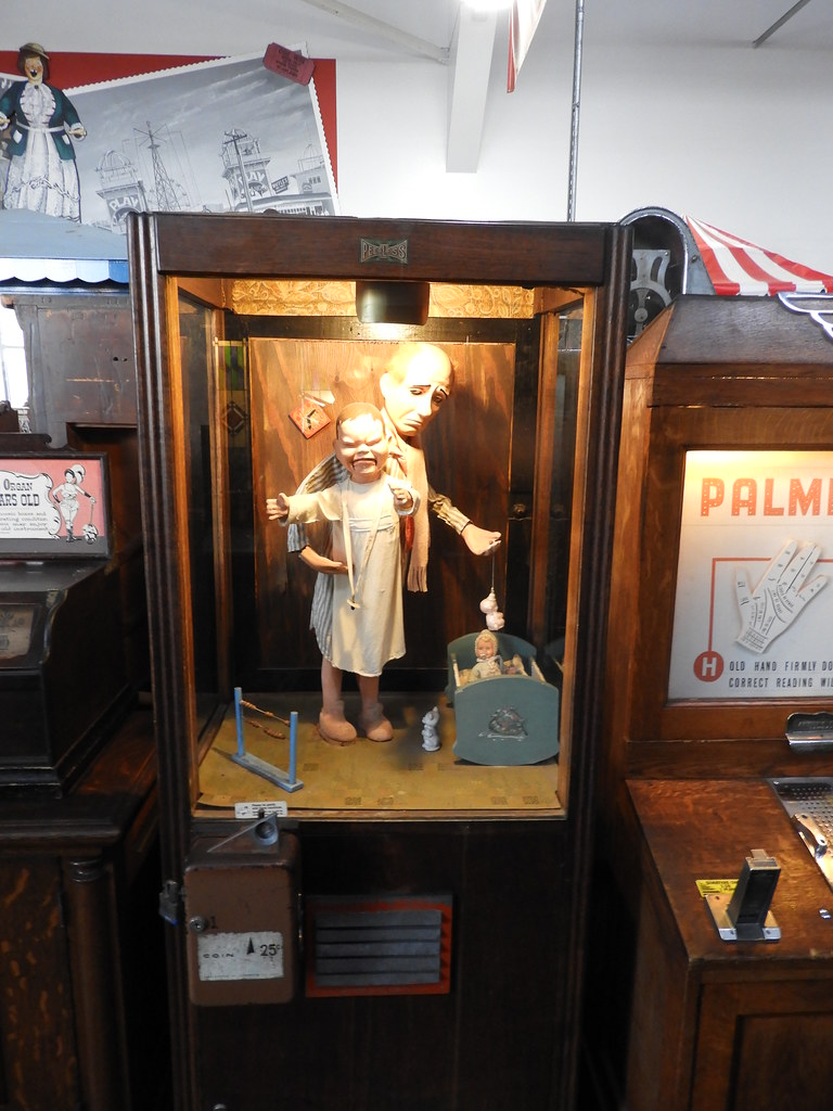 musée mécanique - the embarcadero - fisherman - san francisco