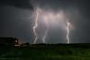 Carpathian Foothills Lightning by mesocyclone70