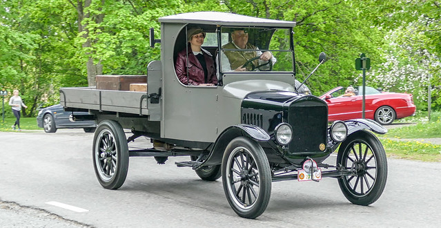 1922 Ford TT Flatbed truck, Explore No. 33