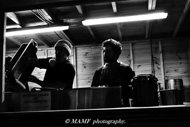 Silhouette chefs.