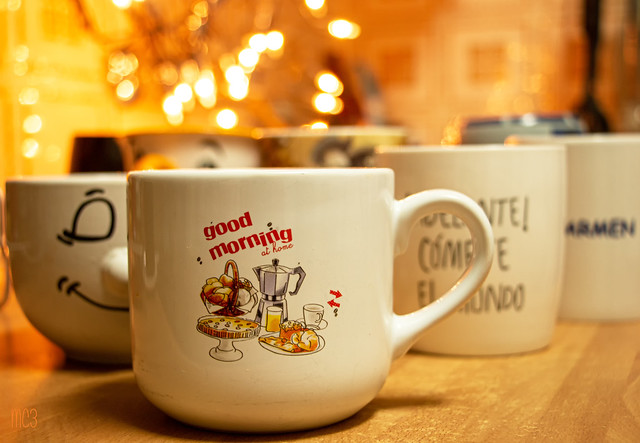 Mugs with words :)